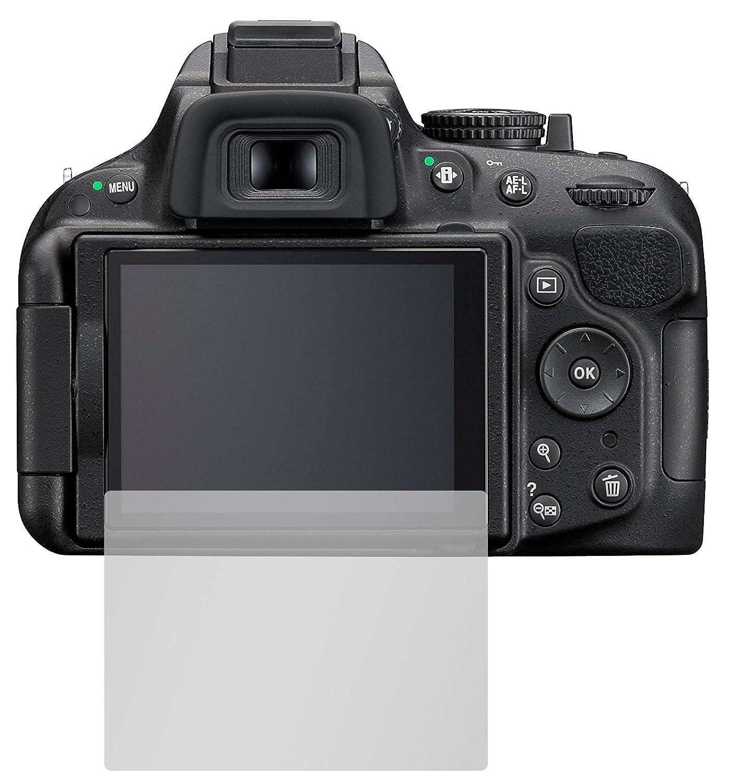 Slabo 2 x Protector de Pantalla Compatible con Nikon D5200 lámina ...