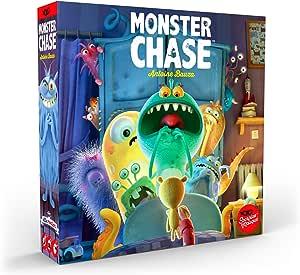 Asmodee Monster Chase - Spanish Multicolour (SMMC0001
