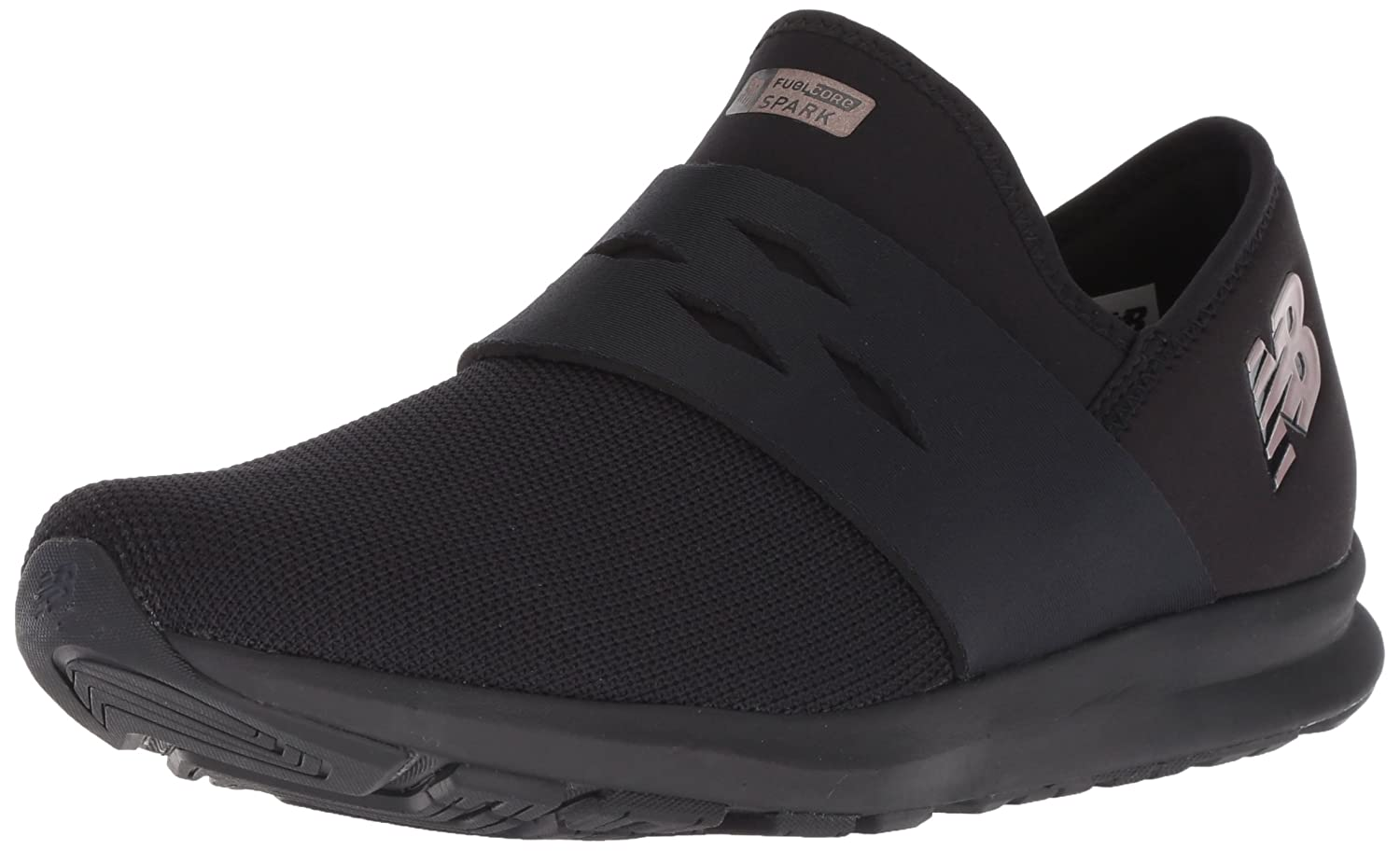 New Balance Women's SPK V1 FuelCore Cross Trainer B075R6VH72 8.5 B(M) US|Black/Black
