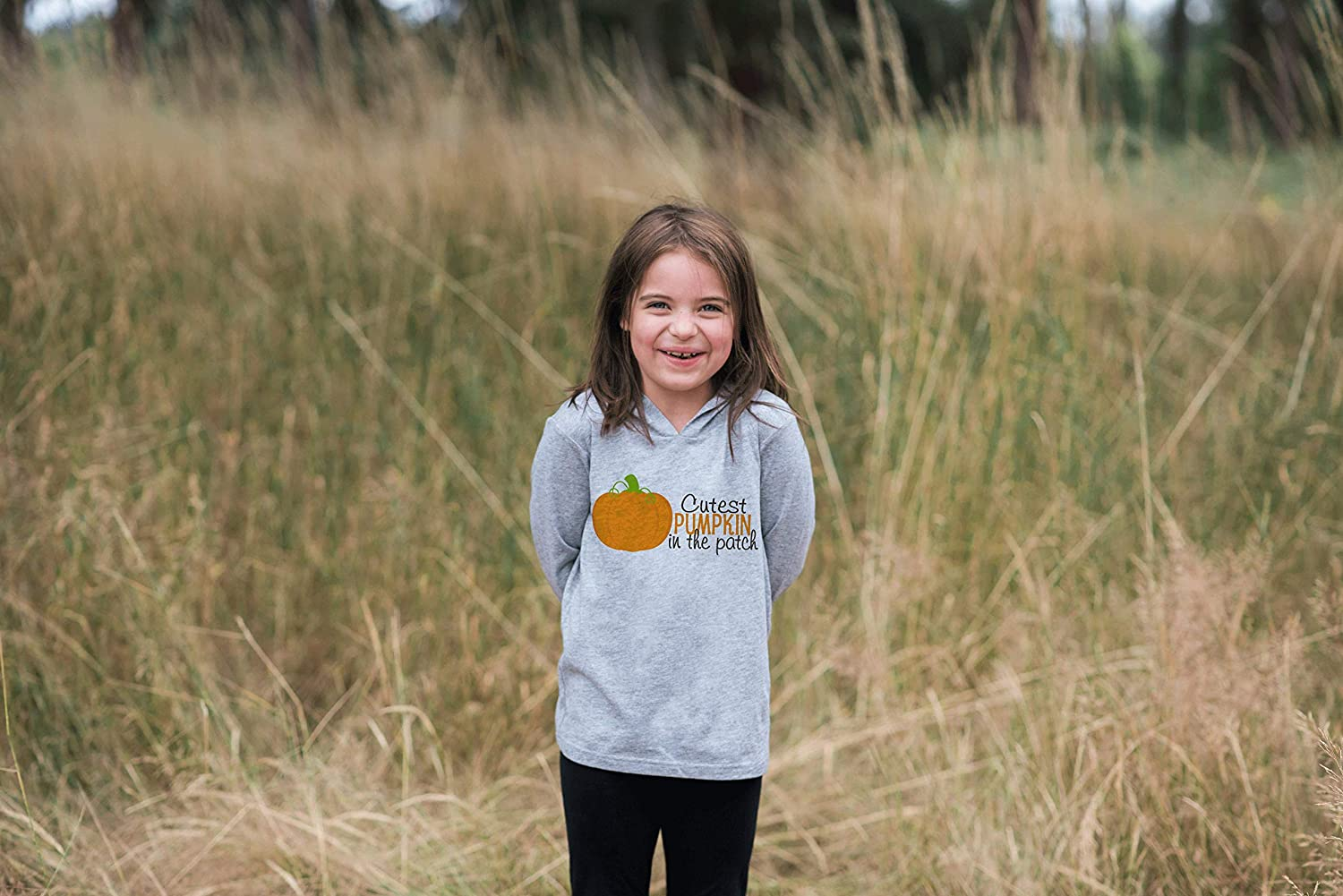 7 ate 9 Apparel Baby Cutest Pumpkin in The Patch Halloween Hoodie