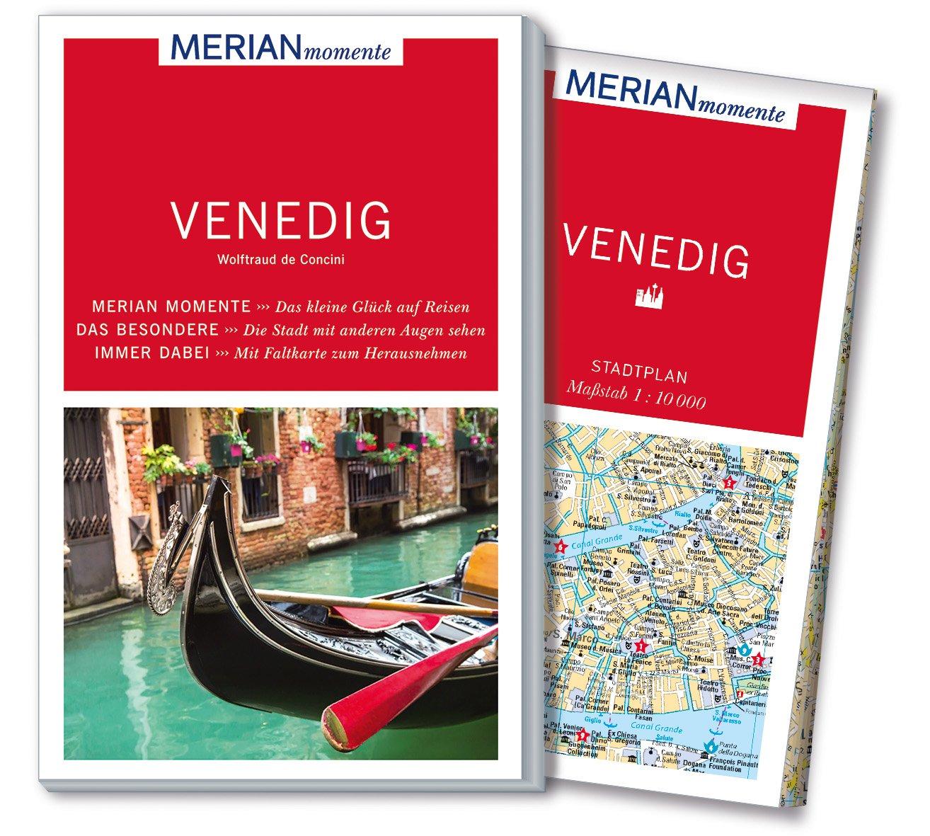MERIAN momente Reiseführer Venedig: Mit Extra-Karte zum Herausnehmen