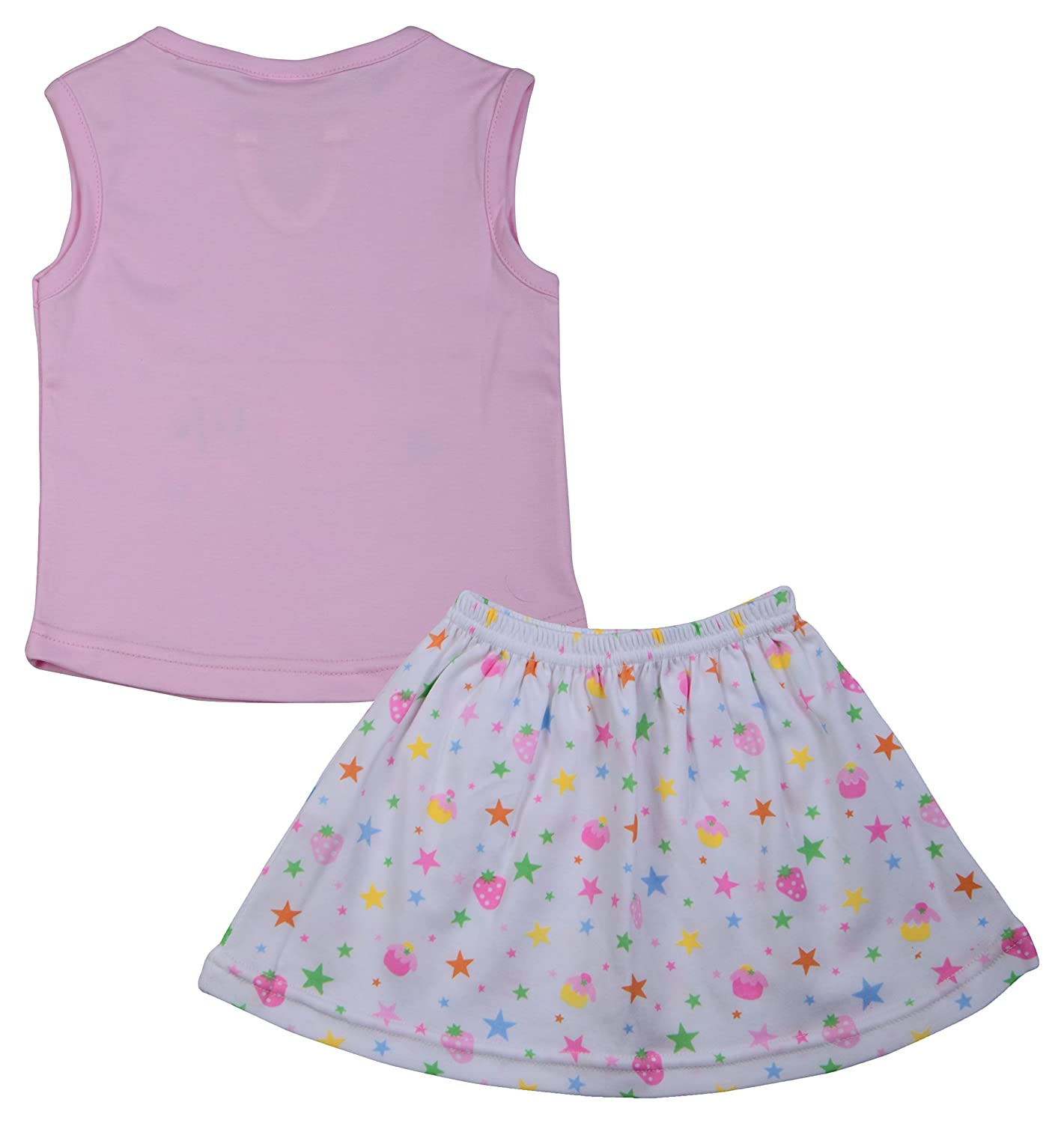 ad2983dd99a5 MYFA Baby Girl Hosiery Cute Top   Skirt Set – Super Fashionable for Your  Little Daughter – Available in Cool Summer Colors