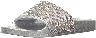 Blue by Betsey Johnson Womens SBDixie Slide Sandal Blush Multi 64 Size 100
