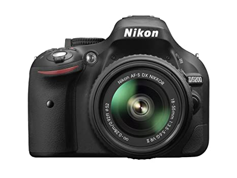 Nikon D5200 - Cámara réflex digital de 24.1 Mp (pantalla 3in ...