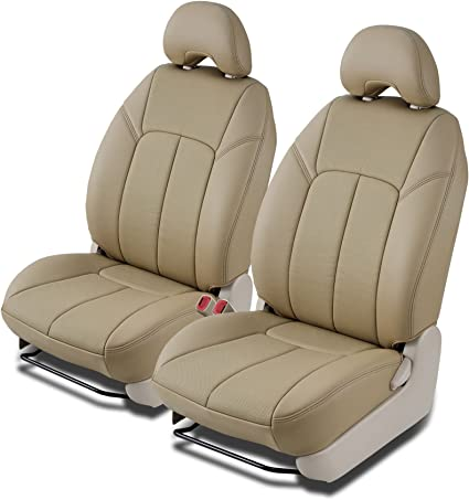 Clazzio 203031tan Tan Leather Front Row Seat Cover for Toyota Venza