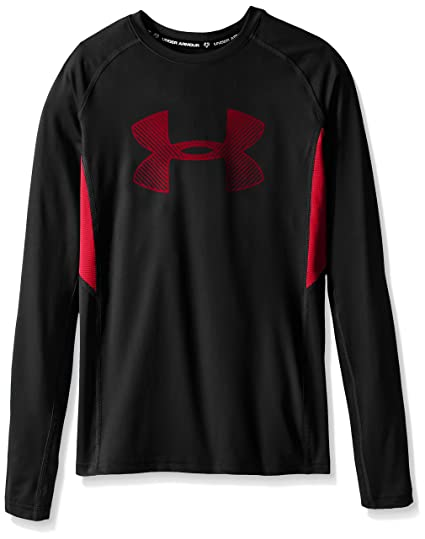 red under armour long sleeve shirt