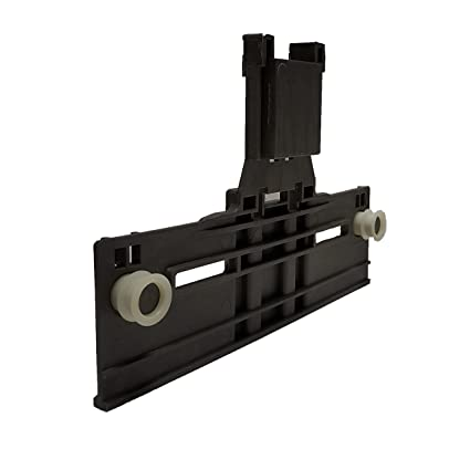 W10350376 Dishwasher Top Rack Adjuster w/ 0 90 Inch Diameter Wheels  (Redesigned for Heavy Duty Wheel Support)