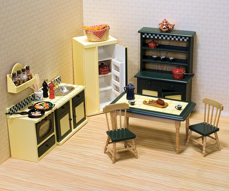 Amazon.es: Melissa & Doug - Juego de cocina para casa de muñecas ...