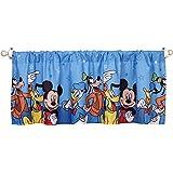 Disney Mickey Mouse Playground Pals Window Valance, Blue