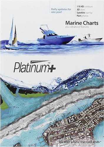 Navionics Platinum Plus 632P Central and South Florida Marine Chart on SD MSD