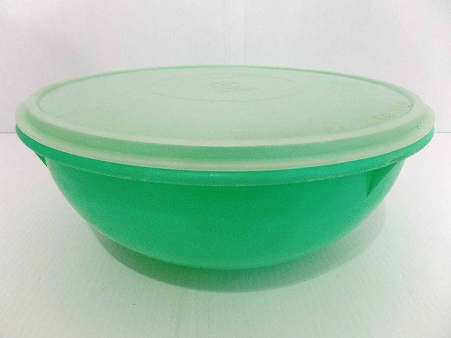Vintage Tupperware FIX N MIX Bowl, Green Tupperware Bowl