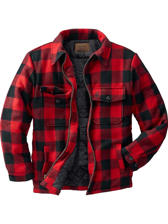 566e227bf13 Amazon.com  Legendary Whitetails The Outdoorsman Buffalo Plaid Jacket   Sports   Outdoors