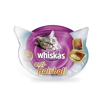 Anti-Hairball para bolas de pelo de uso diario para gatos de 60g | Pack de 8 cajas de 60g: Amazon.es: Productos para mascotas