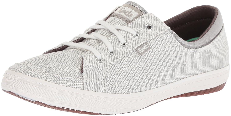 Keds Women's Vollie Ll Railroad Stripe Sneaker B072WSLJ52 6.5 B(M) US|Gray