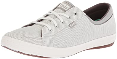 Keds Women's Vollie Ll Railroad Stripe Sneaker,Gray,5 ...