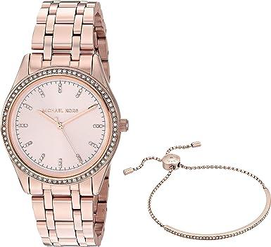 5d1bf64b2120 Amazon.com  Michael Kors Women s MK3768 - Kiley Rose Gold Tone One Size   Watches