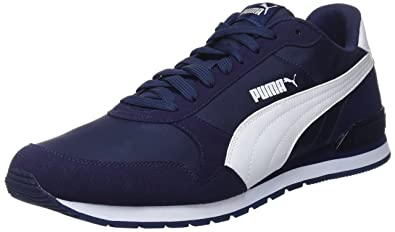 08af604d74140 Puma St Runner v2 NL, Chaussures de Fitness Mixte Adulte, Bleu (Peacoat  White
