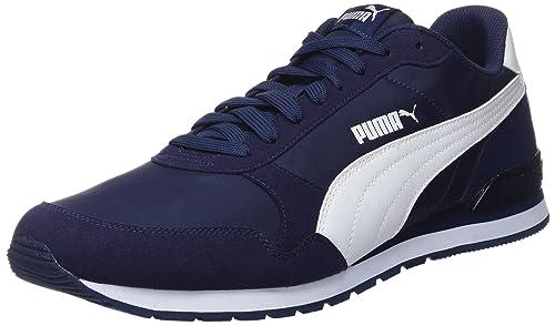 Puma Unisex Adult St Runner V2 Nl Cross Trainers, Blue (Peacoat-Puma White