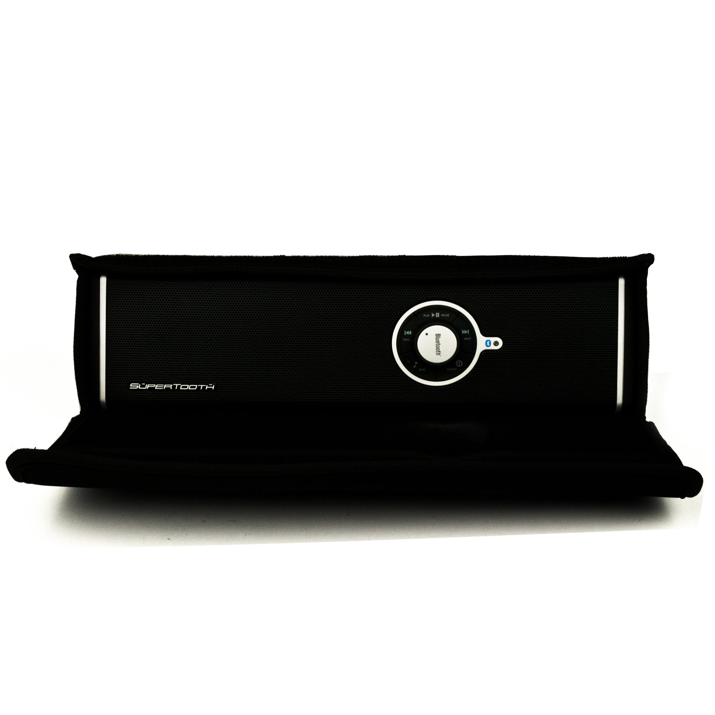 Bluetooth Speaker with Subwoofer For Samsung Galaxy Tab 7.7 (Verizon) SCH-I815 Android Tablet + Includes an eBigValue ™ Determination Hand Strap