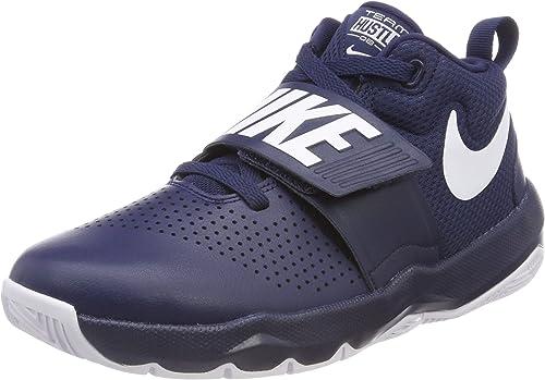Nike Team Hustle D 8 (GS), Zapatos de Baloncesto para Niños, Azul ...