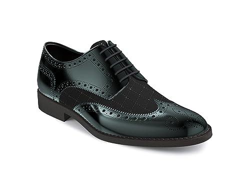 DIS - Zapatos personalizadas - Derby ala bogue - Hombre ...