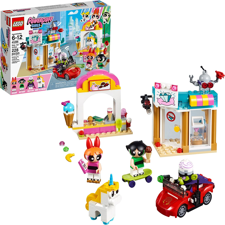 NEW  LEGO 41288 Powerpuff Girls  Mojo Jojo Strikes Ice Cream Stand Jewelry Store