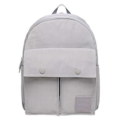 Amazon.com  MORE PURE 228s Classic Mini Small Fashion Backpack Purse ... 3b8be680db