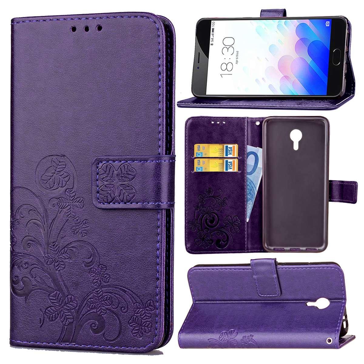 Guran Funda de Cuero PU para Meizu M3 Note Smartphone Función de ...