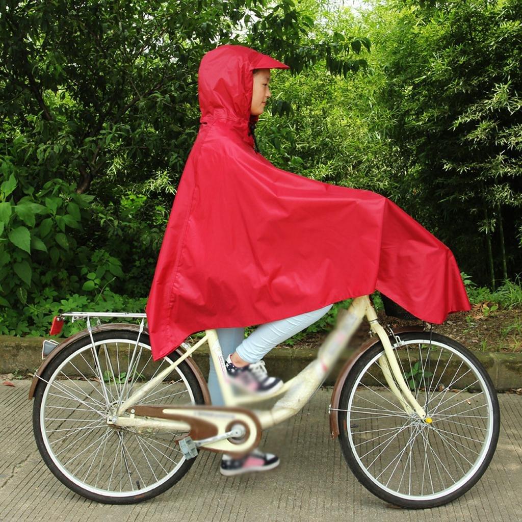 Raincoat FEIZIPoncho Impermeable del PVC PVC del del Adulto, Paseo al Aire Libre Poncho de la Bici de la Fila 8690a0