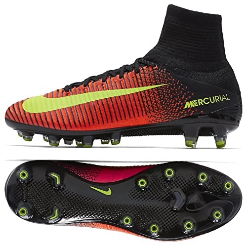 new product 9e1b8 0197f Nike Mercurial Superfly V AG-PRO 831955-870 Crimson Men s Soccer Cleats ( Size