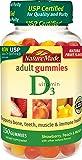 Nature Made Vitamin D3 Adult Gummies (2,000 IU per serving) Value Size 150 Ct