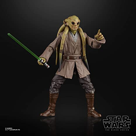 Star Wars The Black Series Kit Fisto Toy 6 Inch Scale The Clone Wars Collectible Action Figure Spielzeug