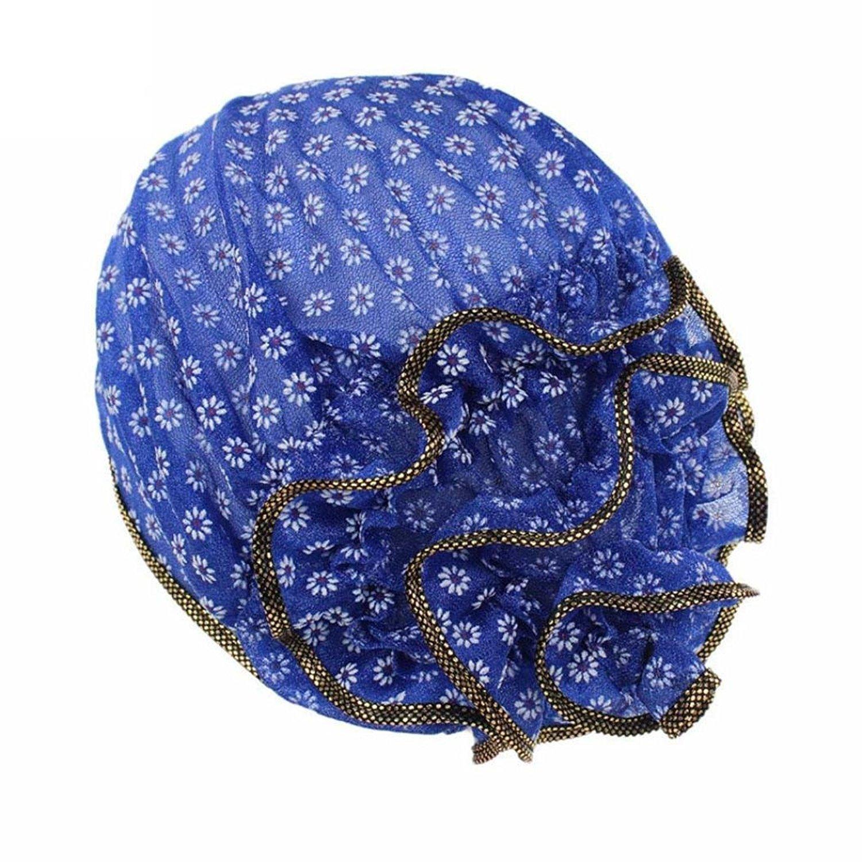 2455dcd2051 Kingko® Women s Muslim Small Daisy Printing Stretch Turban Hat Chemo ...