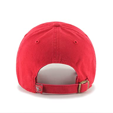 best website 5c8c4 a1fb3 Amazon.com   NFL Arizona Cardinals Clean Up Adjustable Hat, Dark Red, One  Size Fits All Fits All   Baseball Caps   Clothing