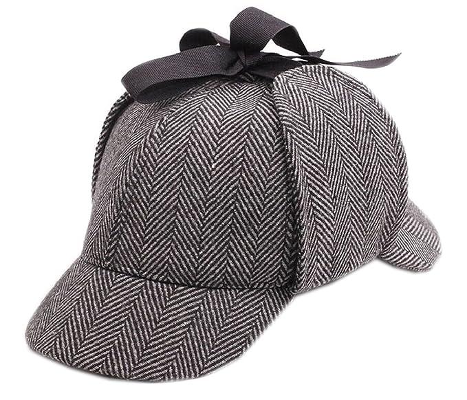 Amazon.com  CHILD Sherlock Holmes Hat Deerstalker Hat (Circumference ... 11aca0217b0