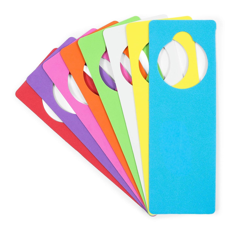 EVA Foam Door Hangers for DIY Crafts 8 Colors 3.25 x 9.5 Inches ...