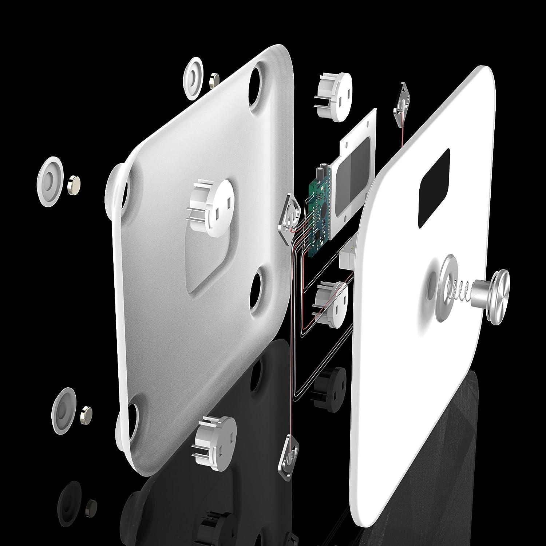dodocool 体重計・体組成計 バッテリーフリー体重計 デジタルスケール 高精度 150kgまで計量 ホワイト