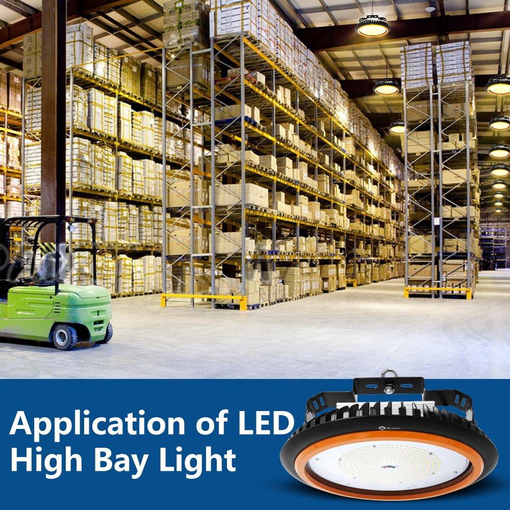LED Hallenleuchte//LED SMD Hallenstrahler Dank Schutzart IP65 sowohl f/ür den Innen 2er Anten LED High Bay Licht 22000lm 150W Kaltwei/ß als auch Aussenbereich 6000-6500K