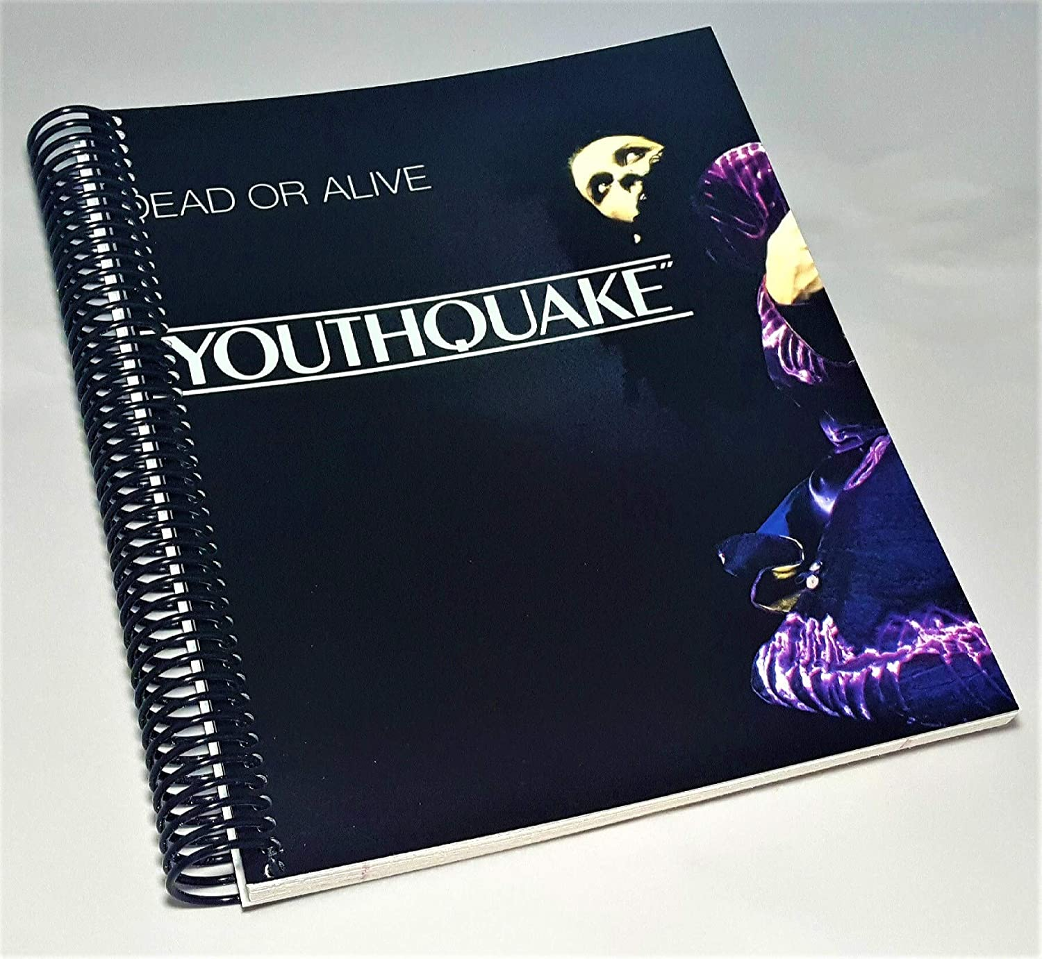 Amazon Com Dead Or Alive Dead Or Alive Youthquake Youthquake Vinyl Pete Burns Book Album Cover Notebook Gay Husband Christmas Gifts Limited Edition Vinyl Handmade