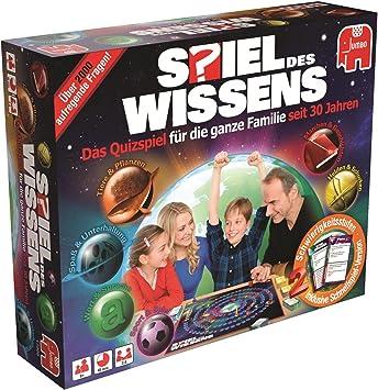 Spiel Des Wissen Wissens Original Niños y Adultos Juegos de Preguntas - Juego de Tablero (Juegos de Preguntas, Niños y Adultos, 45 min, Niño/niña, 8 año(s), Interior): Amazon.es: Juguetes y juegos
