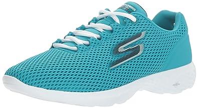 Damen Go Step Sneaker, Blau (Blue/Pink), 38.5 EU Skechers