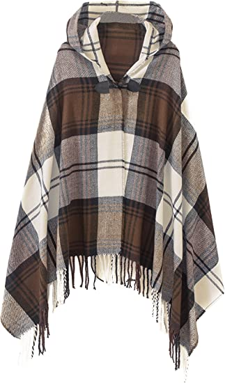 Ladies Poncho Cape Knitted Shawl New Womens One Size Wrap Stylish Cardigan