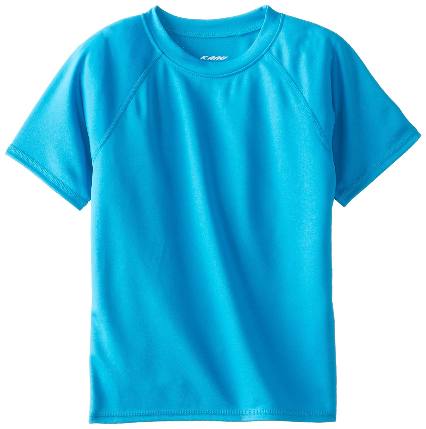 Kanu Surf Boys' Short-Sleeve Rashguard Swim Shirt