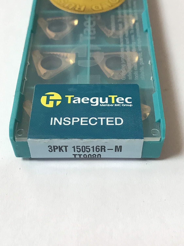 10pcs//Box TaeguTec 3PKT 150516R-M TT9080