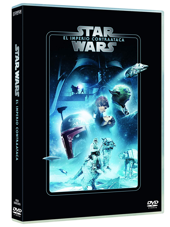 Star Wars Ep. V: El imperio contraataca Edición remasterizada DVD: Amazon.es: Mark Hamill, Harrison Ford, Carrie Fisher, Irvin Kershner, Mark Hamill, Harrison Ford, Gary Kurtz: Cine y Series TV
