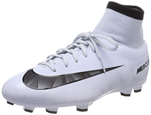 5e35defe124c Nike Mercurial Victory Vi Dynamic Fit Cr Little Firm Ground Soccer Cleat  (6) White
