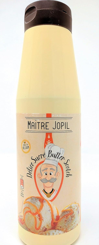 Maître Jopil - Topping Salsa Butterscotch Caramelo con Leche 1,2kg: Amazon.es: Alimentación y bebidas