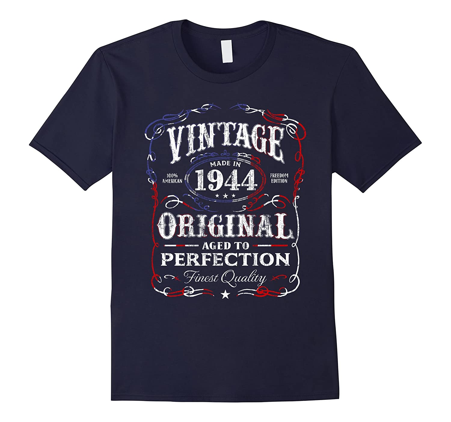 Vintage Made In 1944 Birthday Gift T-Shirt