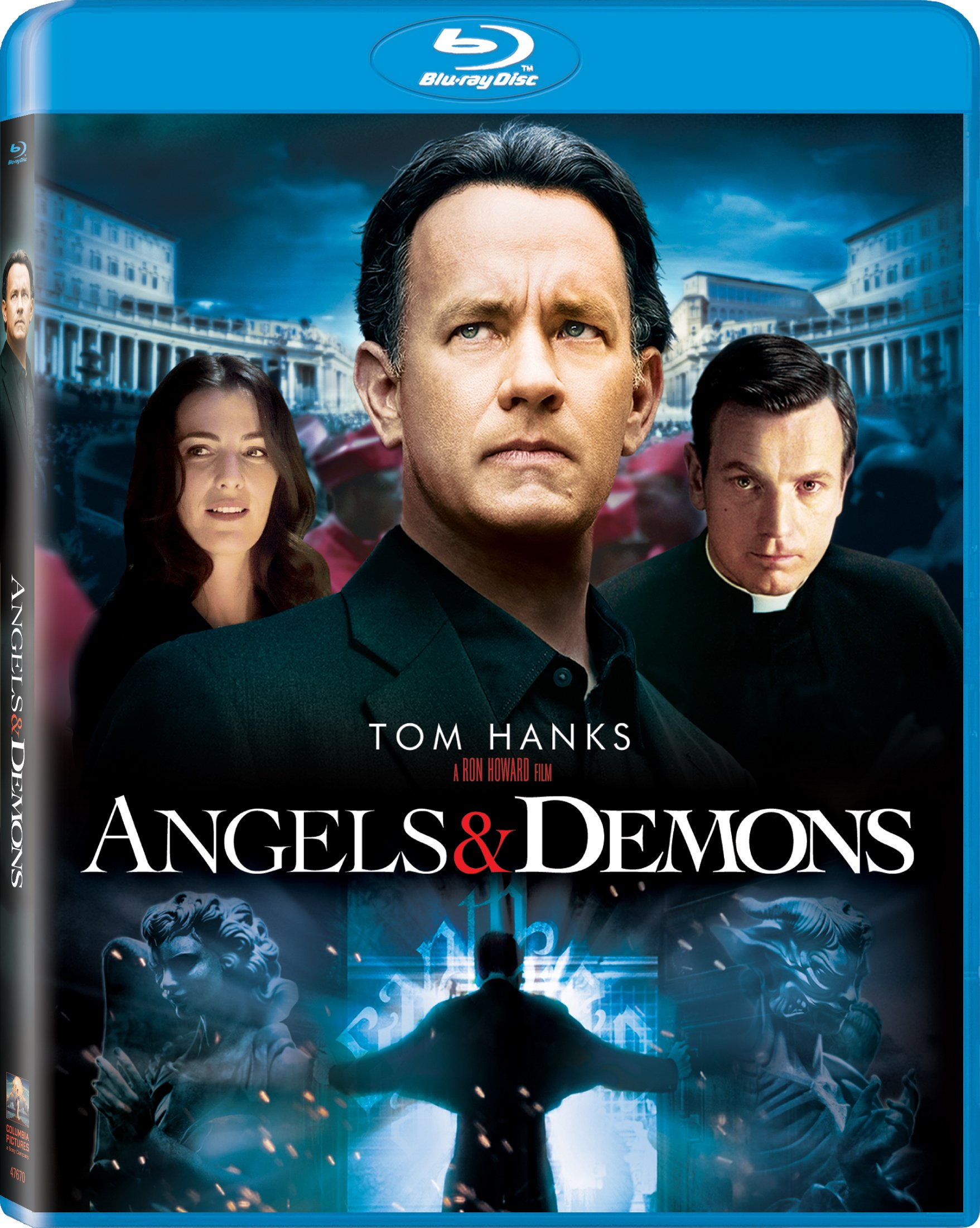 Blu-ray : Angels And Demons (Ultraviolet Digital Copy, )