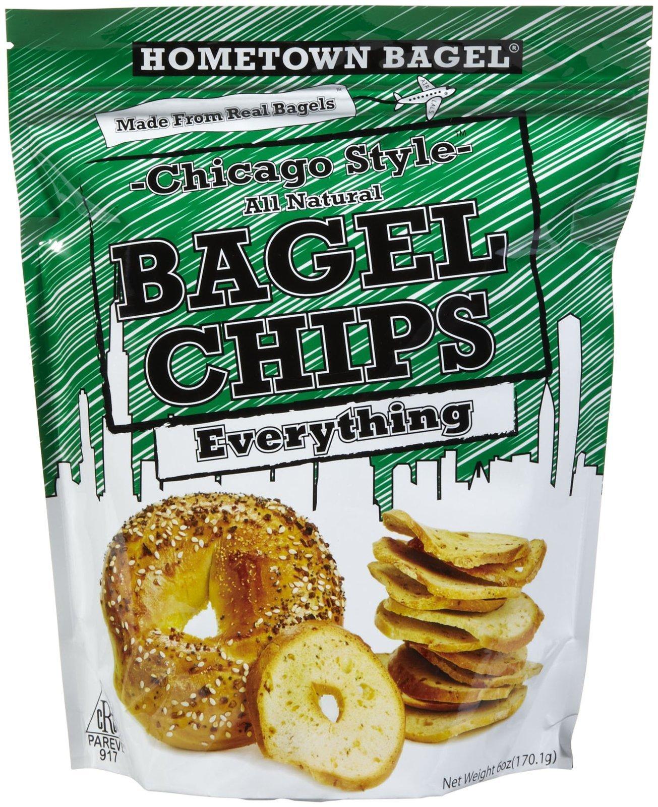 Hometown Bagel All Natural Everything Bagel Chips - 6 oz